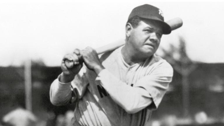 3. Babe Ruth - OF
