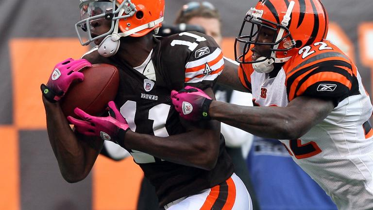 WR Mohamed Massaquoi, Browns