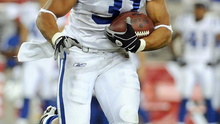 No. 11: Donald Brown,<br>Colts running back