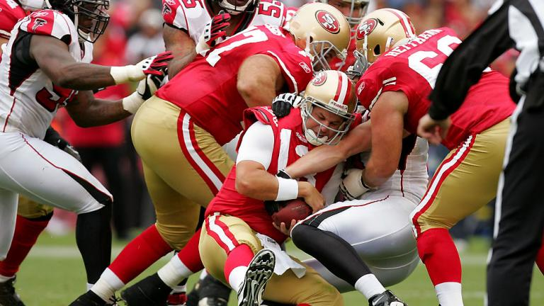 49ers brought down