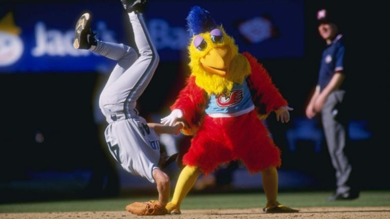 1. San Diego Chicken