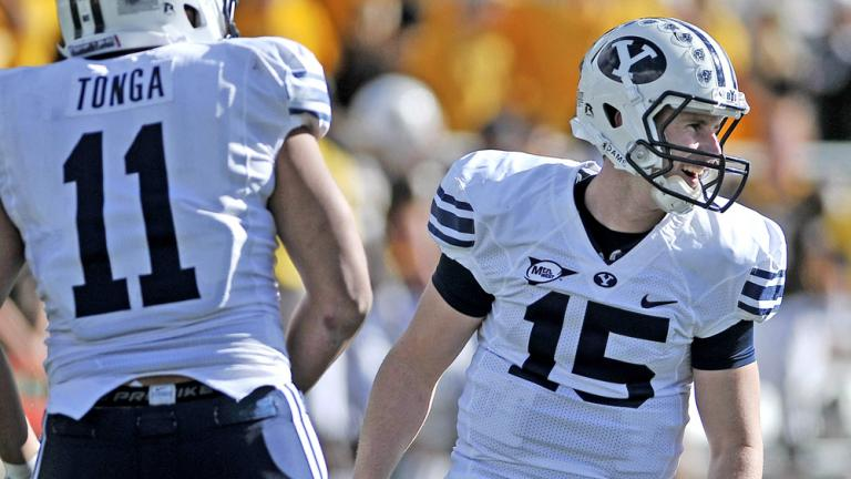 No. 25 BYU 52, Wyoming 0