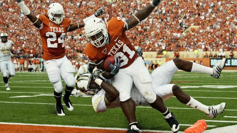 No. 2 Texas 35, Central Florida 3