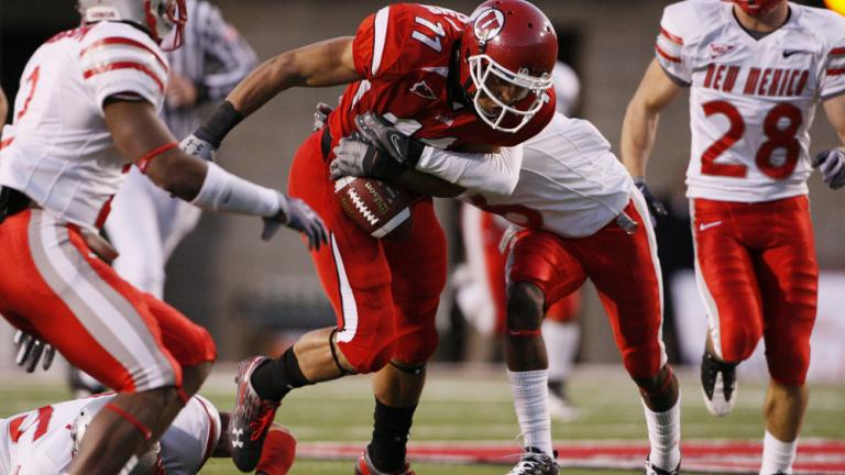 No. 17 Utah 45, New Mexico 14