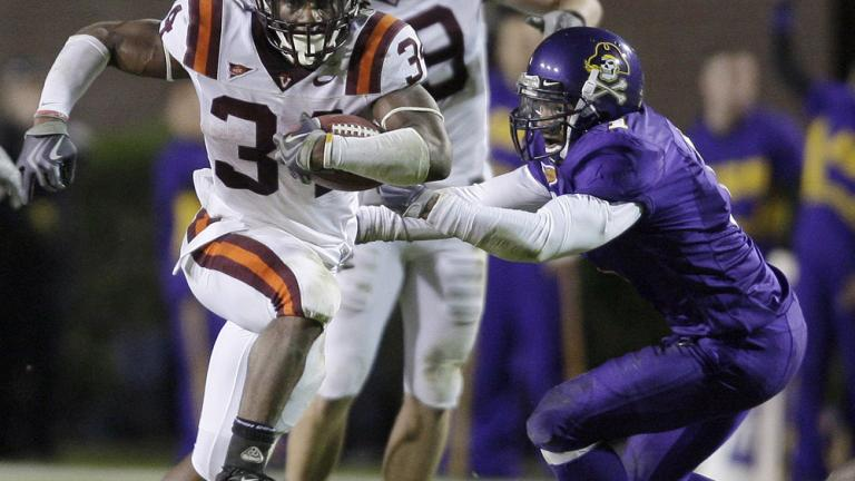 No. 22 Virginia Tech 16, East Carolina 3