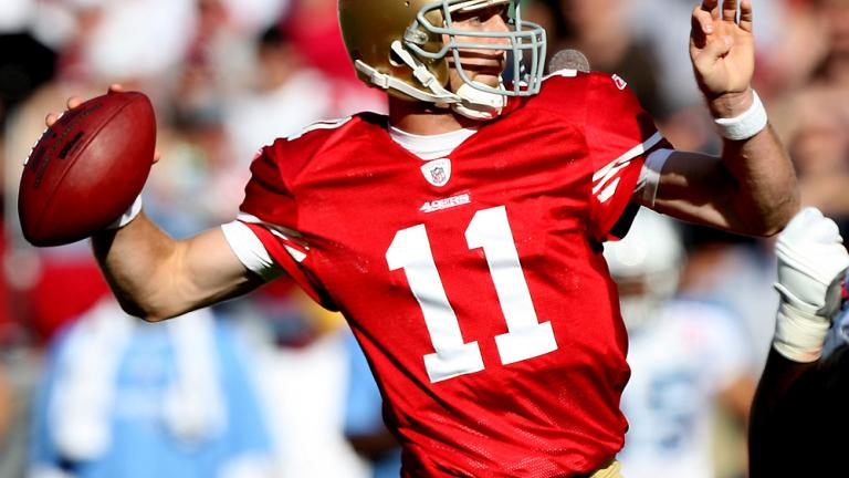 QB Alex Smith, 49ers