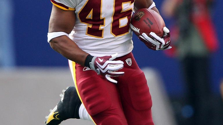 RB LaDell Betts, Redskins