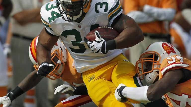 RB Ahman Green, Packers