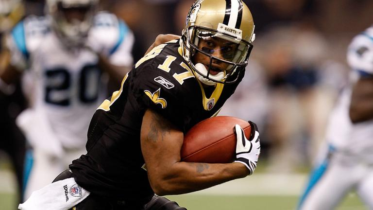 WR Robert Meachem, Saints