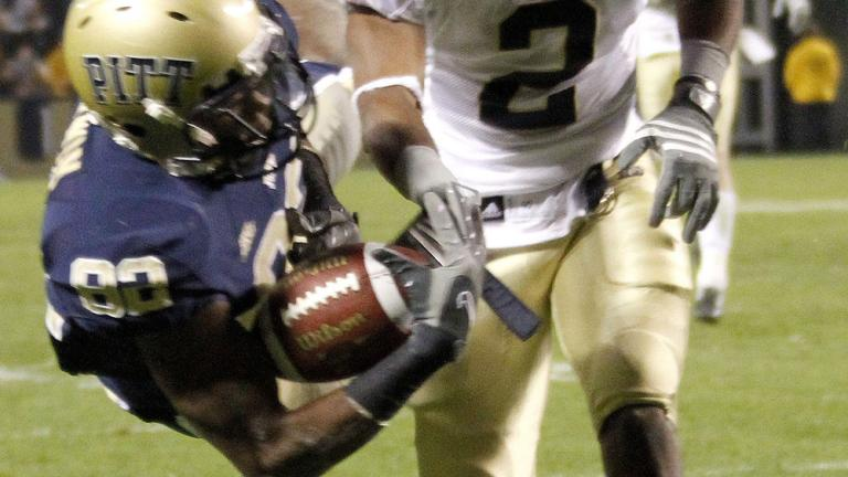 No. 8 Pittsburgh 27, Notre Dame 22