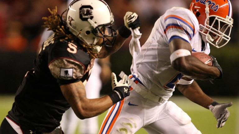 No. 1 Florida 24, South Carolina 14