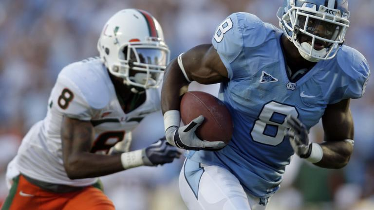 North Carolina 33, No. 12 Miami 24