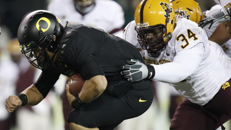 No. 14 Oregon 44, Arizona St. 21