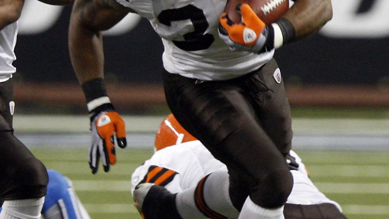 RB Chris Jennings, Browns