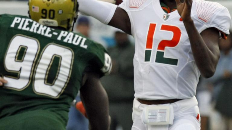 No. 19 Miami 31, South Florida 10