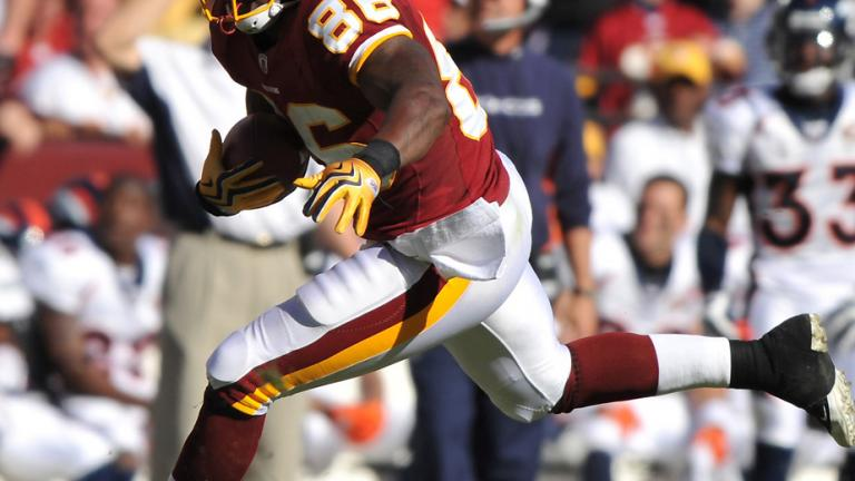TE Fred Davis, Redskins