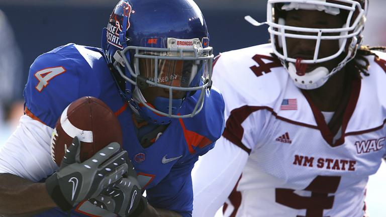No. 6 Boise State 42, New Mexico State 7