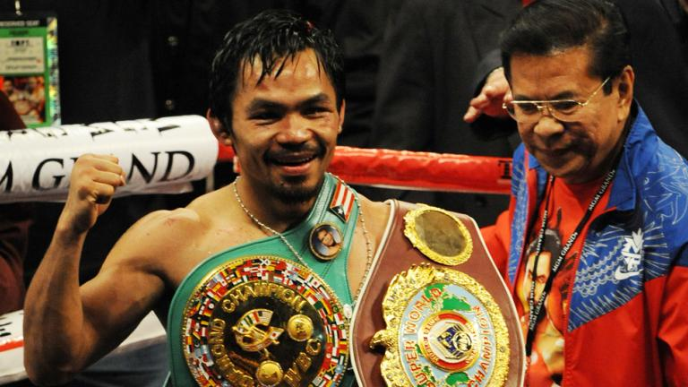 4. Manny Pacquiao