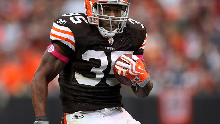 RB Jerome Harrison, Browns