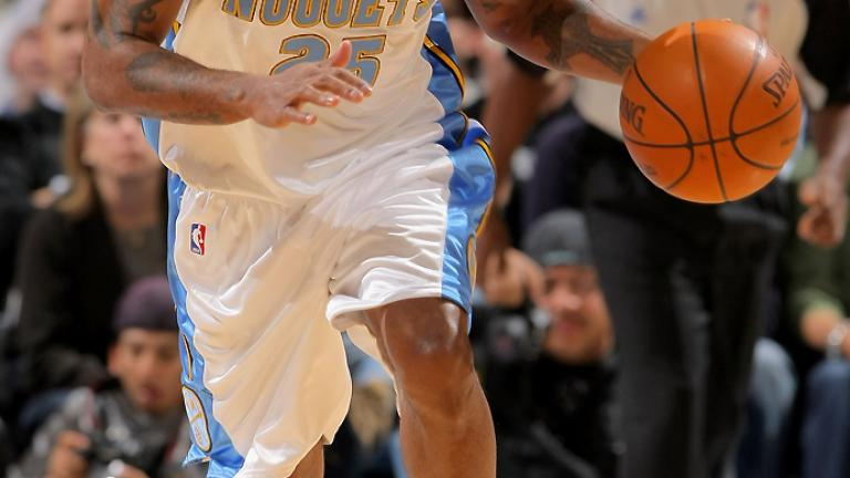 Anthony Carter, Nuggets