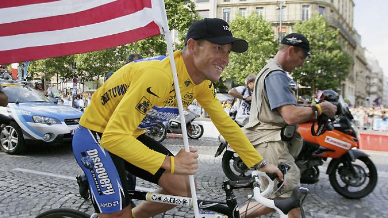 4. Lance Armstrong