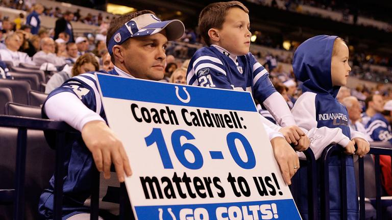 3. What if the Colts were undefeated?