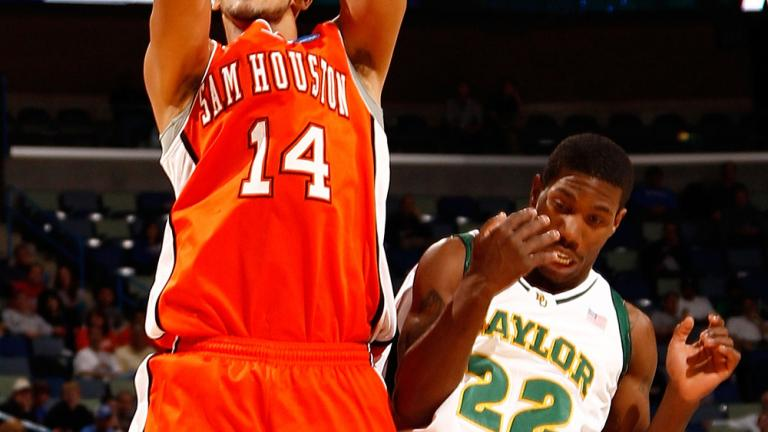 (3) Baylor 68, (14) Sam Houston St. 59