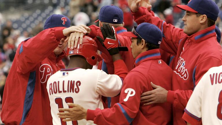 April 3:<br/> Phillies First Win