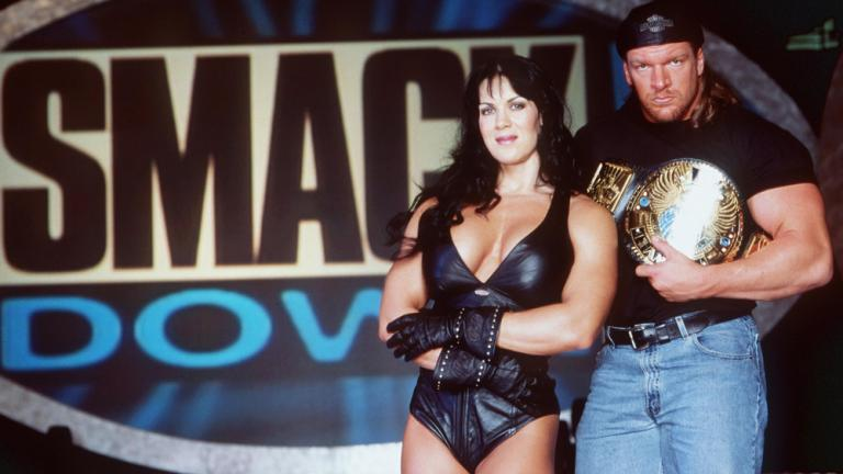 "Joanie ""Chyna"" Laurer, November 2000 and January 2002"