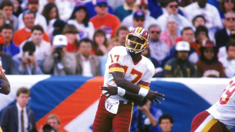 15. Williams, Redskins race to history