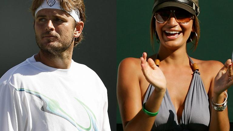 Mardy Fish and Stacey Gardner