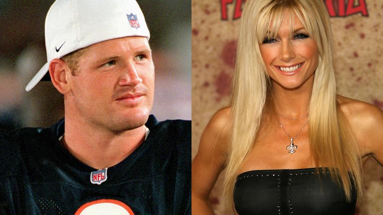 Cade McNown and Brande Roderick