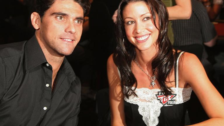 Mark Philippoussis and Shannon Elizabeth