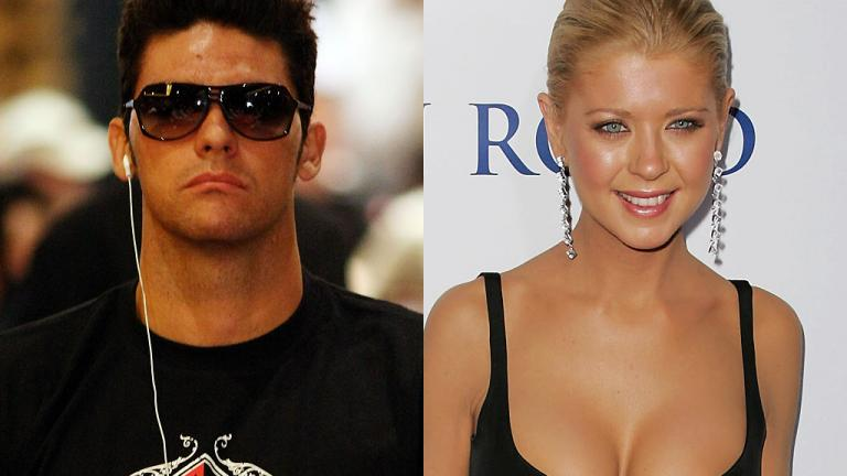Mark Philippoussis and Tara Reid