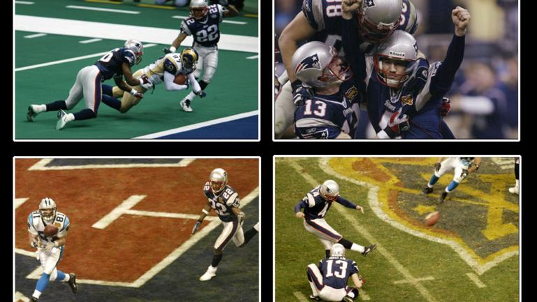 20. Pats make Proehl see double