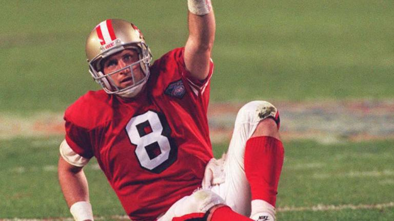 22. Mighty Steve Young
