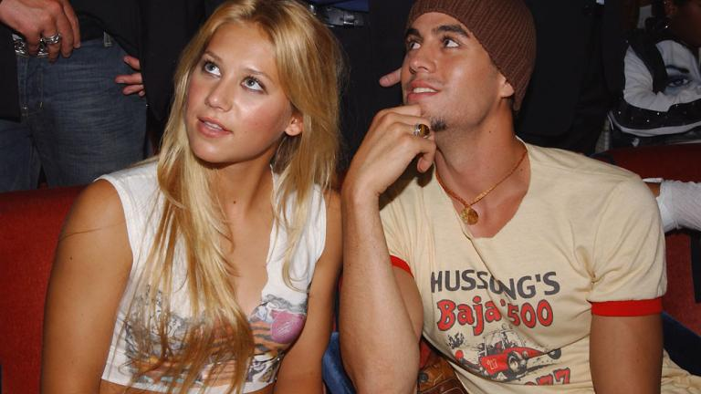Anna Kournikova and Enrique Iglesias
