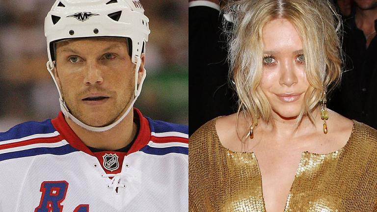Sean Avery and Mary-Kate Olsen