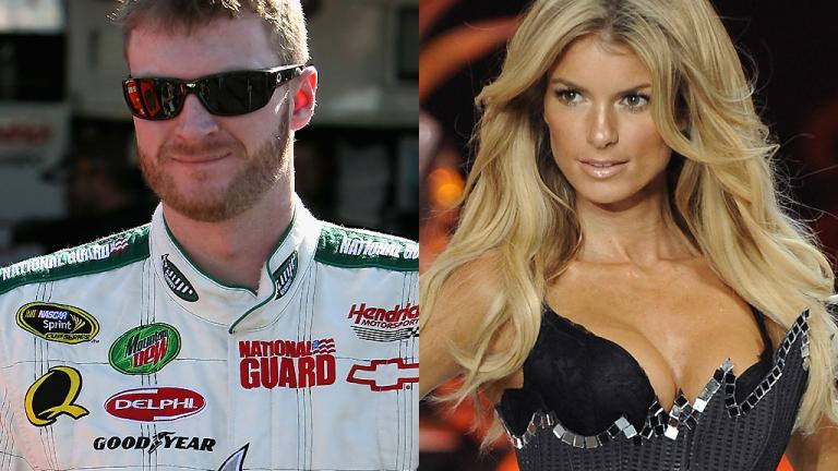 Marisa Miller and Dale Earnhardt Jr.