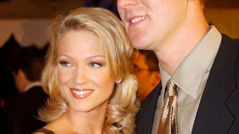 Tim Couch and Heather Kozar
