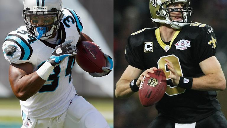 Week 17<br/> Panthers at Saints