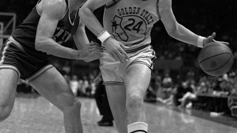 Rick Barry: 13 times