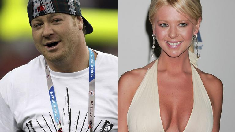 Jeremy Shockey and Tara Reid