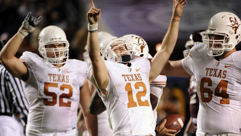 No. 3 Texas 49, Texas A&M 39