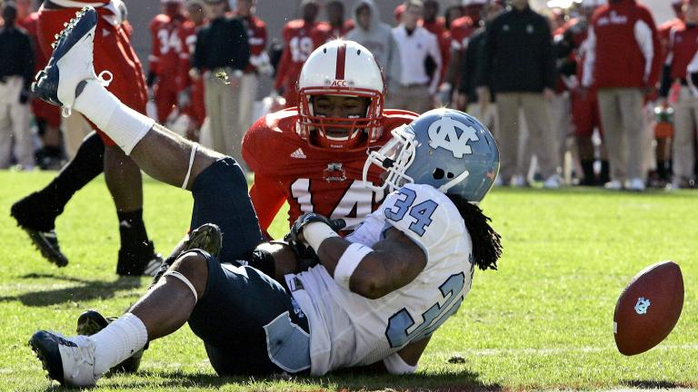 North Carolina State 28, No. 23 North Carolina 27