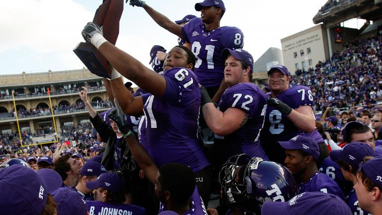 No. 4 TCU 51, New Mexico 10