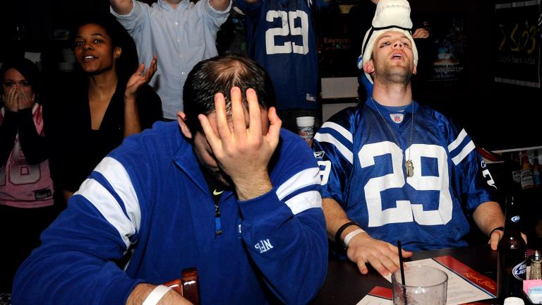Colts fans crushed