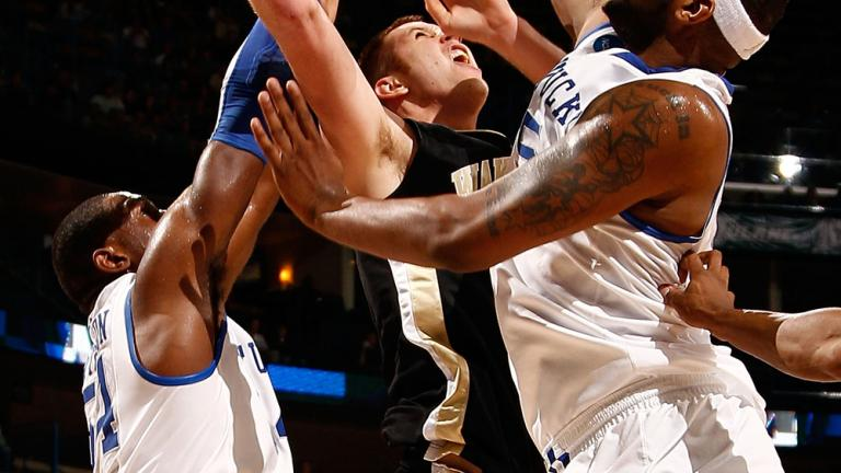 (1) Kentucky 90, (9) Wake Forest 60