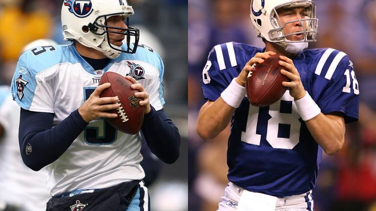 Week 17<br/> Titans at Colts