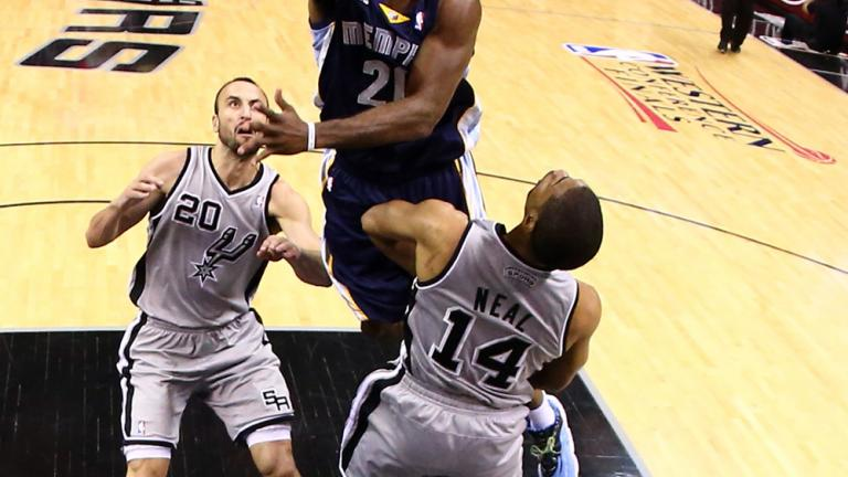 Game 1: Spurs 105, Grizzlies 83